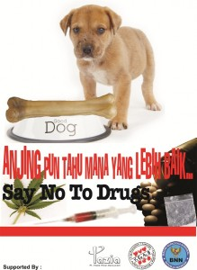 SAY NO TO DRUGS !