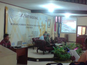 NATIONAL CONFERENCE ON DEVELOPING SYMBIOSIS BETWEEN UNIVERSITY-INDUSTRY IN INDONESIA