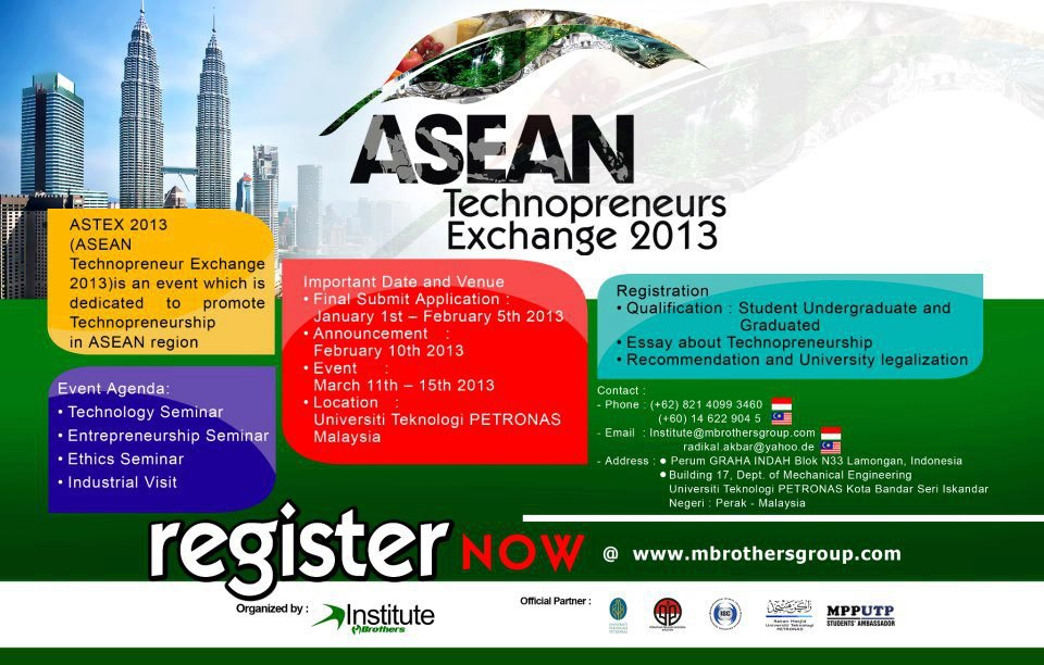 ASEAN TECHNOPRENEUR EXCHANGE 2013
